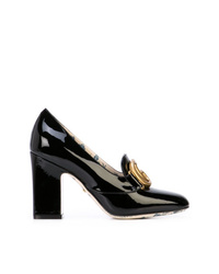 Gucci Double G Block Heel Pumps