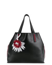 P.A.R.O.S.H. Side Embellished Tote Bag