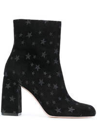 RED Valentino Star Embellished Ankle Boots