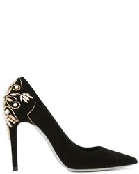 Ren caovilla embellished heel pumps medium 645814