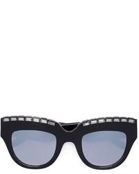 Embellished cat eye sunglasses medium 814585