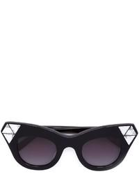 70c805c9e443ba Women s Black Embellished Sunglasses from farfetch.com   Women s Fashion