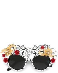 Dolce & Gabbana Mamas Brocade Limited Edition Sunglasses