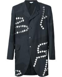 Comme des Garcons Comme Des Garons Homme Plus Graffiti Embellished Coat