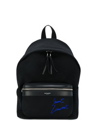 Saint Laurent Mini City Embroidered Backpack