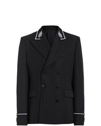 Burberry Filigree Embellished Double Breasted Jacket