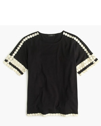 J.Crew Lace Embroidered Top