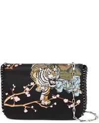 Embroidered shoulder bag medium 803315