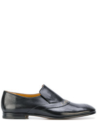 448fbd8ff29ca8 Men s Black Embroidered Loafers from farfetch.com