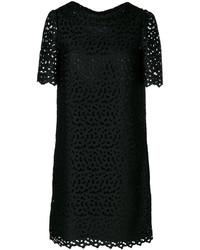 Moschino Boutique English Embroidery Shift Dress