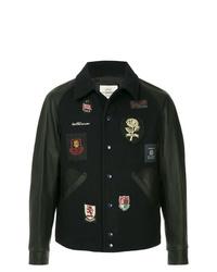 Kent & Curwen Badged Bomber Jacket