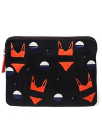 Lizzie Fortunato Jewels Safari Bikini Clutch