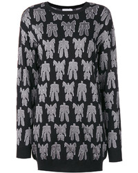 Moschino Transformers Embroidered Sweater Dress