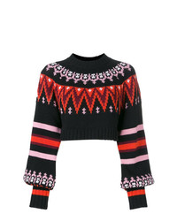 MSGM Crop Lenght Knitted Sweater