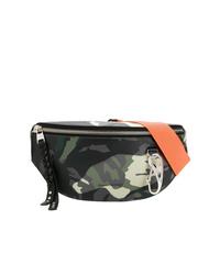 Alexander McQueen Camouflage Harness Belt Bag