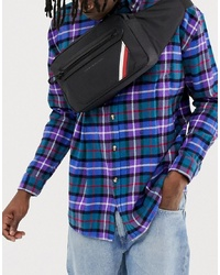 Tommy Hilfiger Easy Nylon Crossbody Bag In Black
