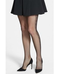 Oroblu Collant April Side Contrast Fishnet Tights