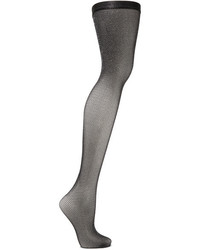 Falke Metallic Fishnet Tights Black