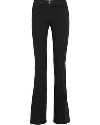 Frame Le High Flare High Rise Jeans Black