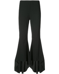 Alice + Olivia Aliceolivia Ruffled Flared Trousers