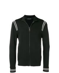 Black Fleece Bomber Jacket