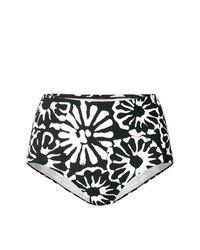 Tory Burch High Waisted Floral Bikini Bottoms
