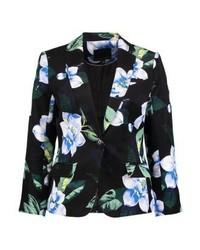 Chelsea floral blazer black medium 3939863