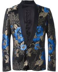 Christian pellizzari floral jacquard blazer medium 542369
