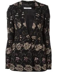 Floral embroidered blazer medium 3649022