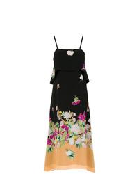 Andrea Marques Silk Leno Dress