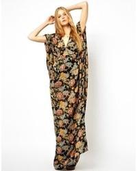 Asos Premium Kimono Maxi Dress