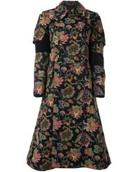 Comme des Garcons Comme Des Garons Woven Floral Coat