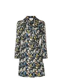 Giuseppe Di Morabito Double Breasted Floral Print Coat