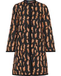 Etro Reversible Cotton Blend Jacquard Coat