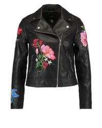 New Look Jaxx Faux Leather Jacket Black