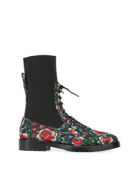 Leandra Medine Lace Up Boots