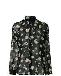 Floral long sleeve shirt medium 7498162