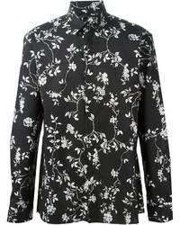 Haider Ackermann Floral Print Shirt