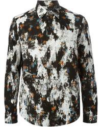 McQ by Alexander McQueen Mcq Alexander Mcqueen Patched Floral Print Shirt