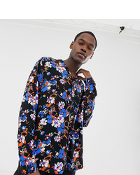 Collusion Tall Oversized Floral Shirt