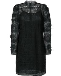 Michael Kors Michl Kors Floral Mesh Lace Dress