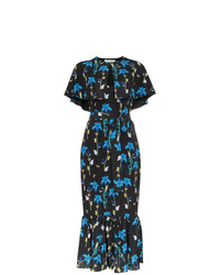 Borgo De Nor Margarita Floral Print Midi Dress