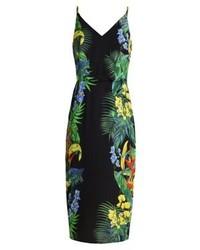 Tropical summer dress black medium 3842200