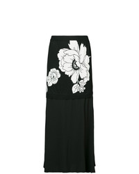 Boutique Moschino Flower Midi Skirt