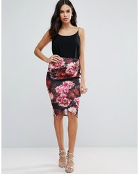 Pencil floral skirt medium 3649484