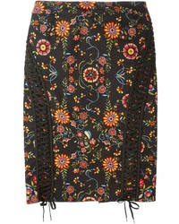 Vintage laced detail pencil skirt medium 217579