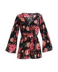 New Look Florence Flare Sleeve Jumpsuit Black