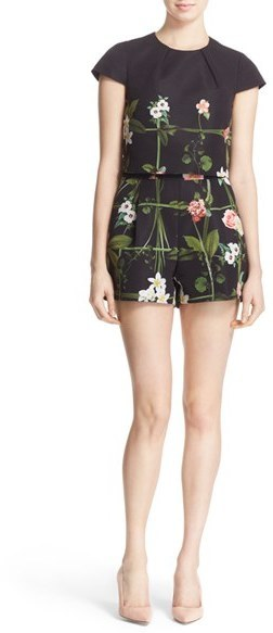 Ted Baker London Kaysha Floral Print Romper   Where to buy   how to wear 13edef7bc3
