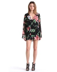Leith Long Sleeve Print Romper   Where to buy   how to wear aa87fe5960