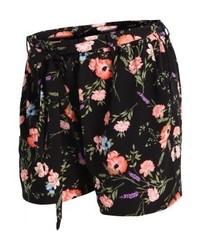 New Look Nlsoft May Floral Shorts Black
